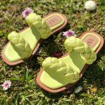 Sandália Rasteira Feminia Lemon de Tranças Leve e Confortaveis Nova Coleção Verão Loja Online MM Store Shoes Moda e Tendencia calçadista (1)
