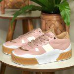 Tênis Feminino Juliete Rosa Nova Coleção Primavera Verão Loja Online Mm Store Shoes Moda e Tendência calçadista (13)