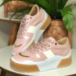 Tênis Feminino Juliete Rosa Nova Coleção Primavera Verão Loja Online Mm Store Shoes Moda e Tendência calçadista (16)