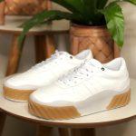 Tênis Feminino Juliete Todo Branco Nova Coleção Primavera Verão Loja Online Mm Store Shoes Moda e Tendência calçadista (6)