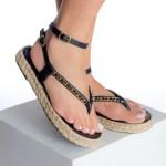 Sandália Papete Feminina Preta Tendencia da Moda em Sapatos Femininos – Loja Online MM Store Shoes (1)