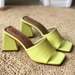 Tamanco Feminino Lemon de Salto Geométrico têndencia da Moda Nova Coleção Verão 2022 Loja Online MM Store Shoes (5)