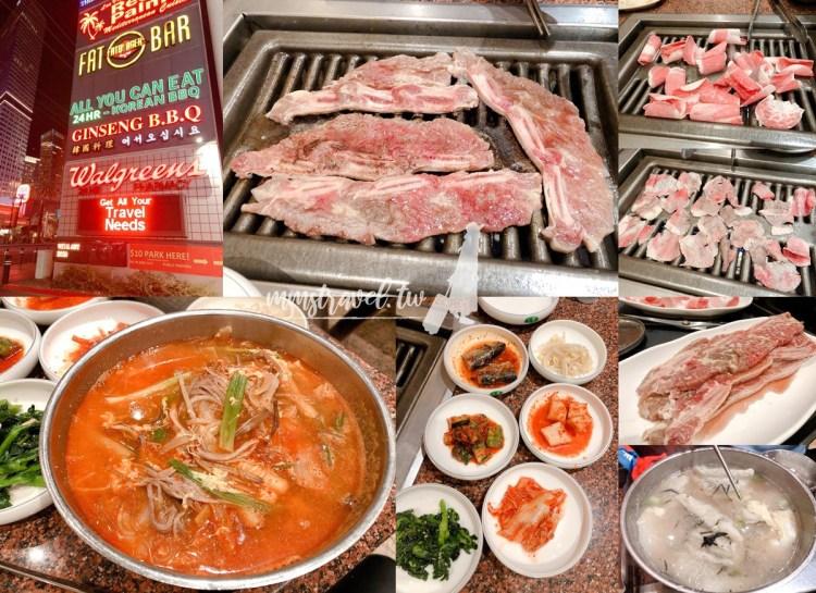 【美國】Las Vegas拉斯維加斯必吃美食:Ginseng B.B.Q 拉斯維加斯大道上的韓式燒烤吃到飽!?
