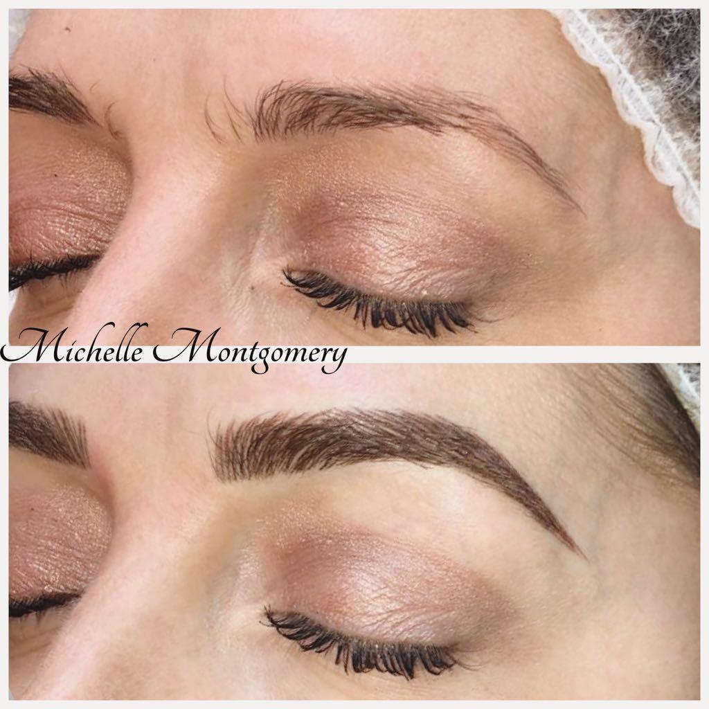 Semi Permanent Eyebrows - MM Studios