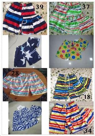 กางเกงเที่ยวทะเล กางเกงคู่ชาย-หญิง กางเกงสำหรับเที่ยว