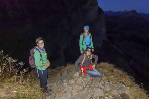 Wanderung auf den Säntis mit Marina, Erich und Valéry