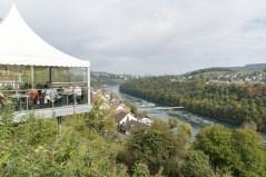 Gute Aussicht auf den Rhein