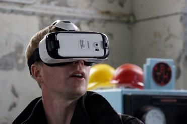 VR App using Samsung GearVR at Geevor Museum