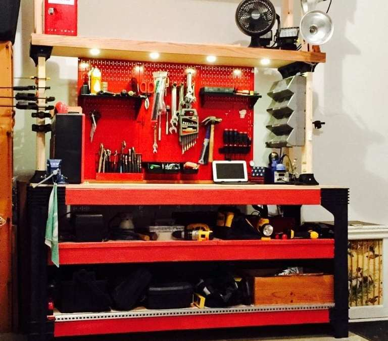 How to Build an Awesome Work Bench
