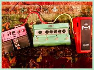 effects pedals and looper