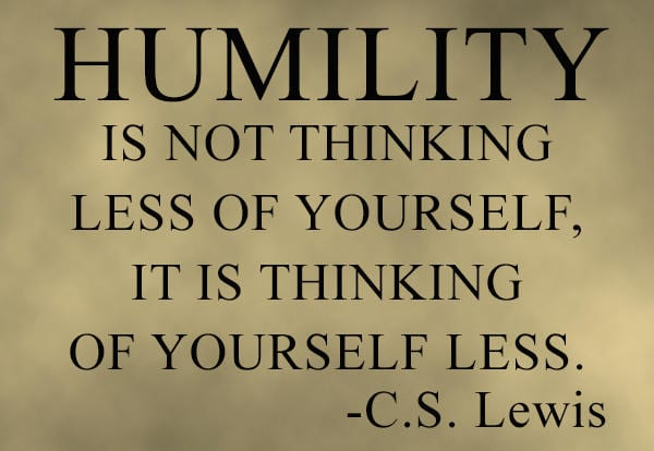 Gratitude and Humility
