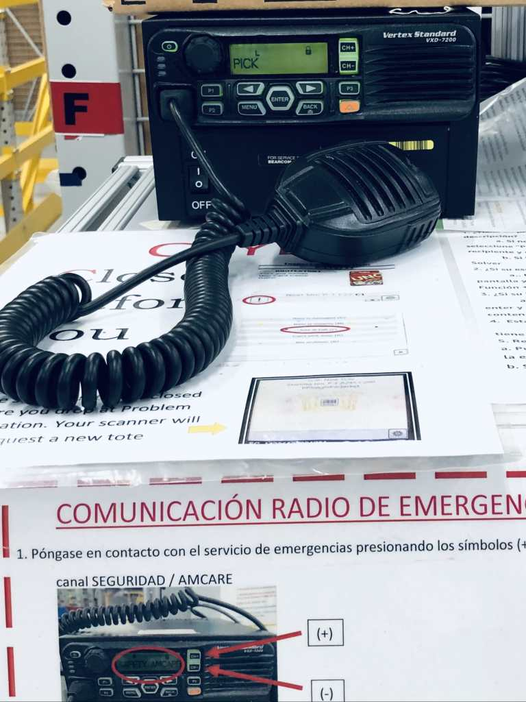 Radios to contact problem solve