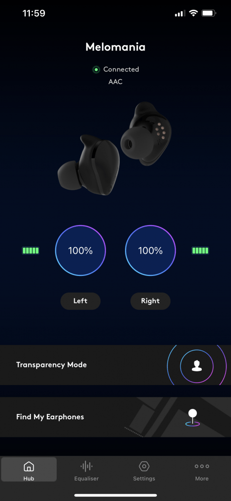 Melomania Touch App