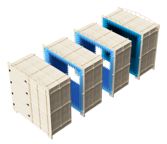 AC1224M mmwave test chamber with extra modules