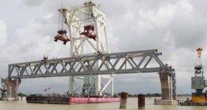 Padma Bridge construction site