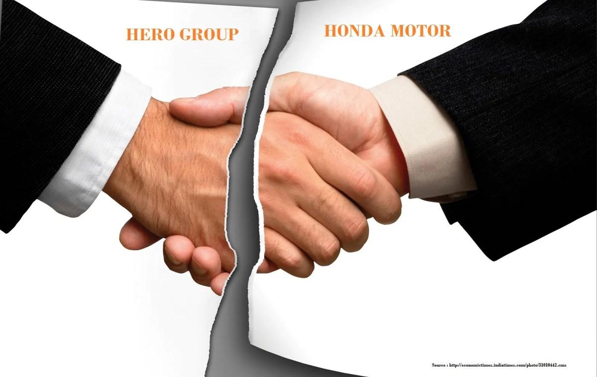 Hero Honda Joint Venture Break UP