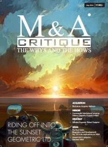 May 2016 M&A Critique mnacritique