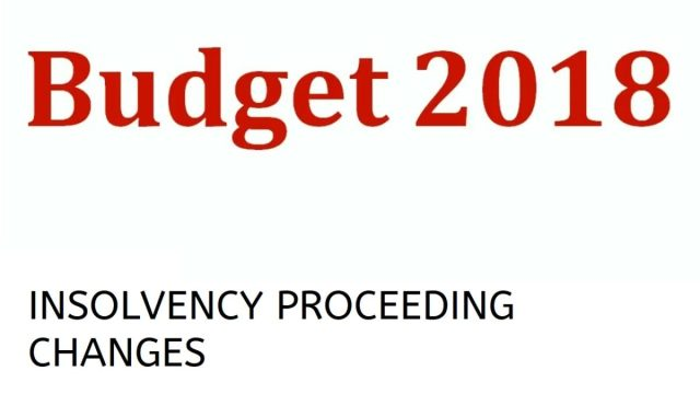 Budget-2018-Income-Tax-Changes-Insolvency-Law