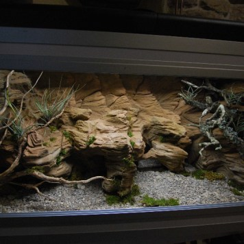 Terrarium plug and play 120x60x60 cm
