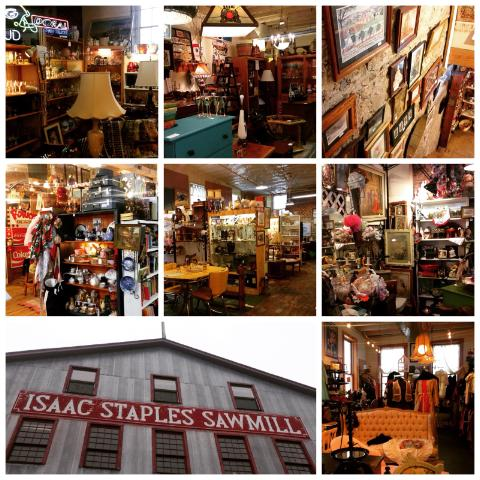 Isaac Staples Saw Mill Antiques