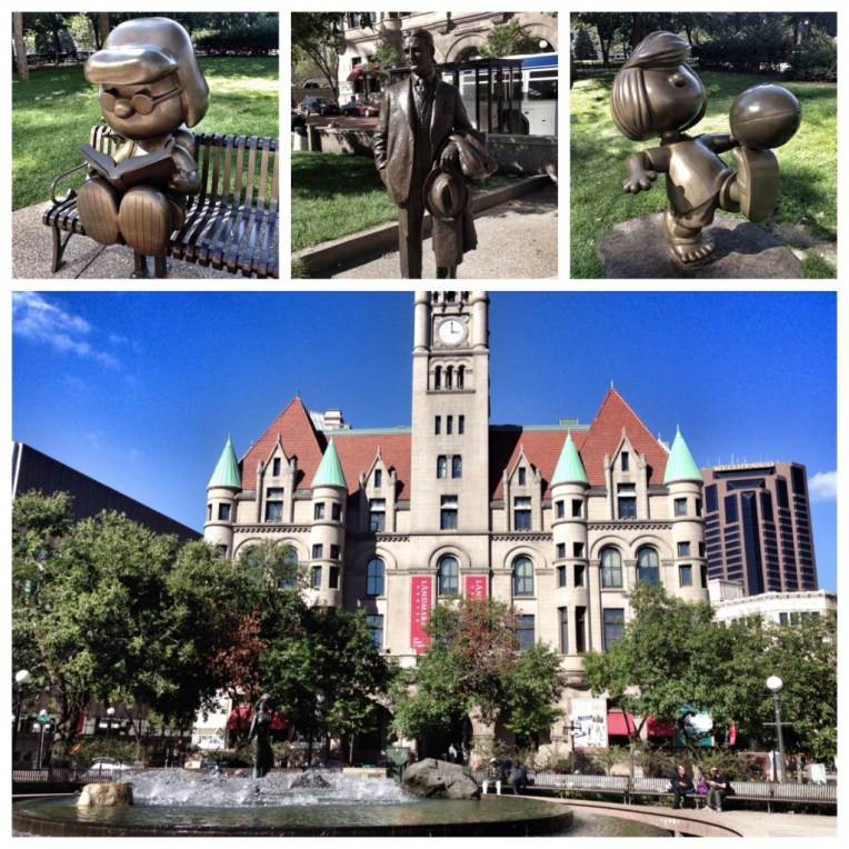 Schulze Characters (Landmark Center)