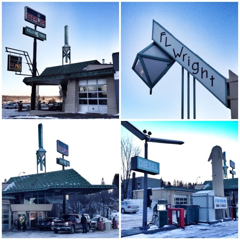 FLW Gas Station