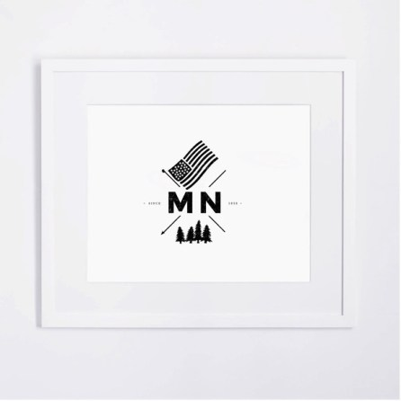 MN Crest Print $17.99 [The Voice Community]