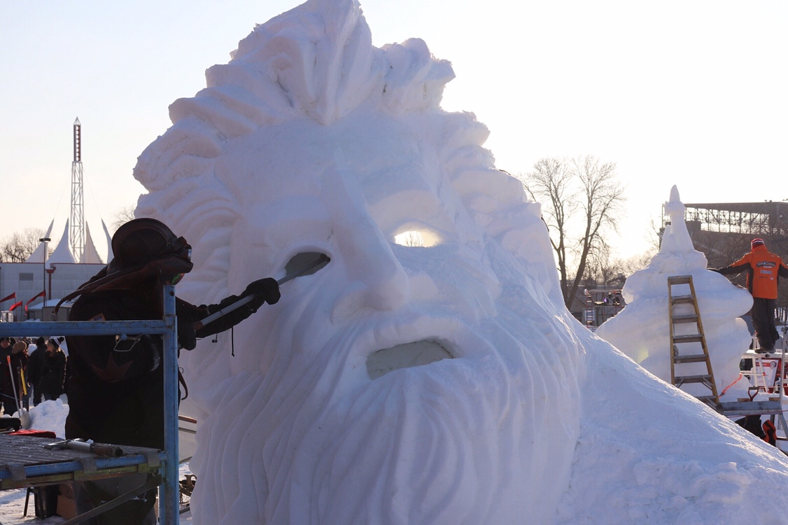 Minnesota State Snow Sculpting Competition