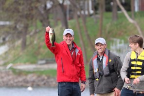 Catch of the day with the Speaker of the House!
