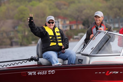 Governor Dayton Fishing