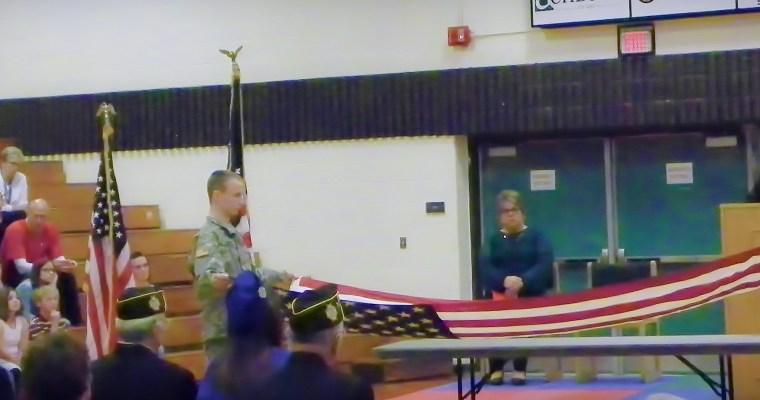 Ortonville School Veterans' Day Program 2017