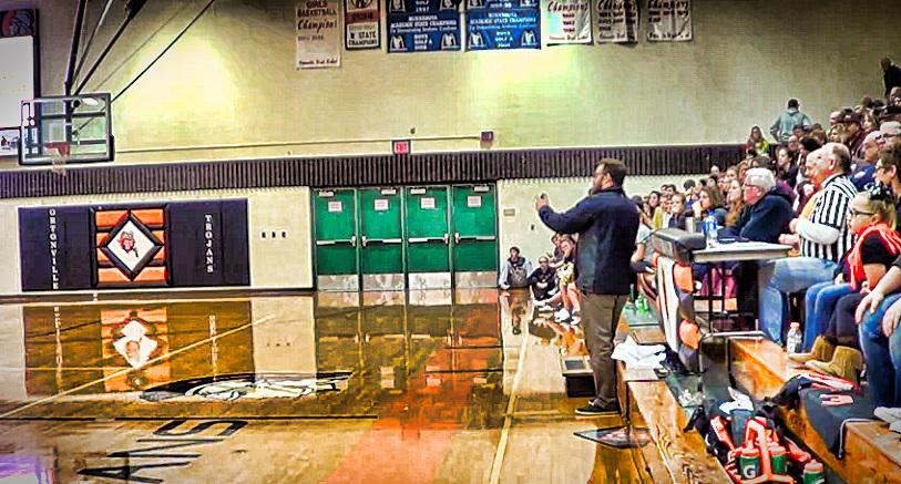 Basketball Ortonville vs Milbank SD