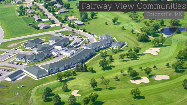Fairway View Senior Communities on our 18-hole golf course.