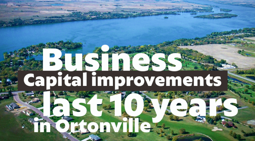 Capital Investments in Ortonville over the Last 10 years