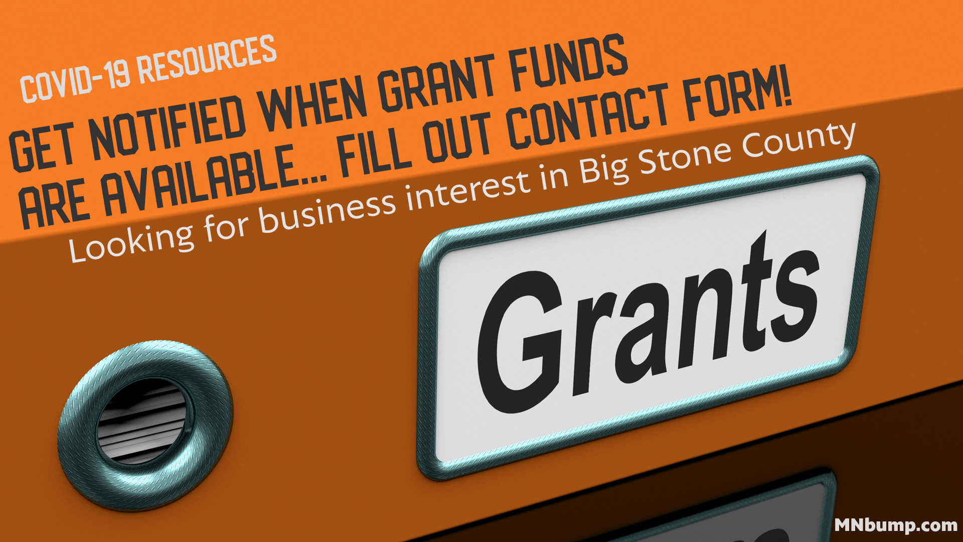 Grant Interest – Business Impacted by COVID-19