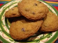 The original chocolate chip cookie created by Ruth Wakefield in the 1930s for service at her family's Toll House Inn, in Whitman, MA.