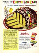 Swans Down Flour Ad, 1950.