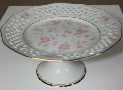 1980's Cake Plate