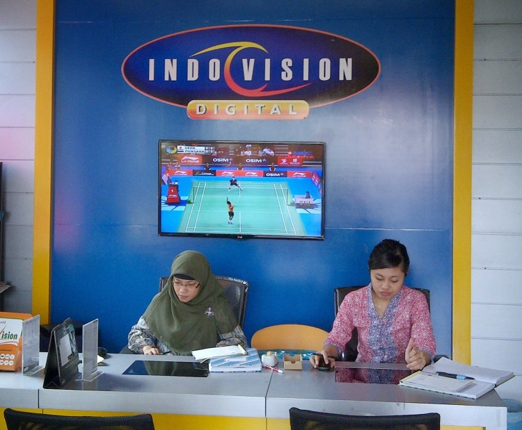 tv cable indovision Bangka Tengah