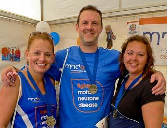 Rachel Bowie, Ed Carroll and Joanna Brown