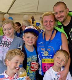 Cheryl O'Neill and family