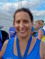 Sarah Lambert of Team Salvo