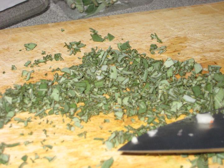 chopped-sage