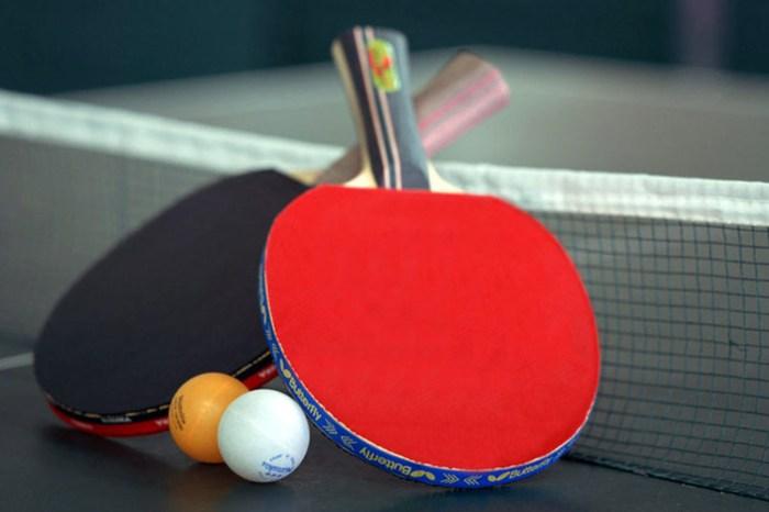 Table tennis. Fun for everyone
