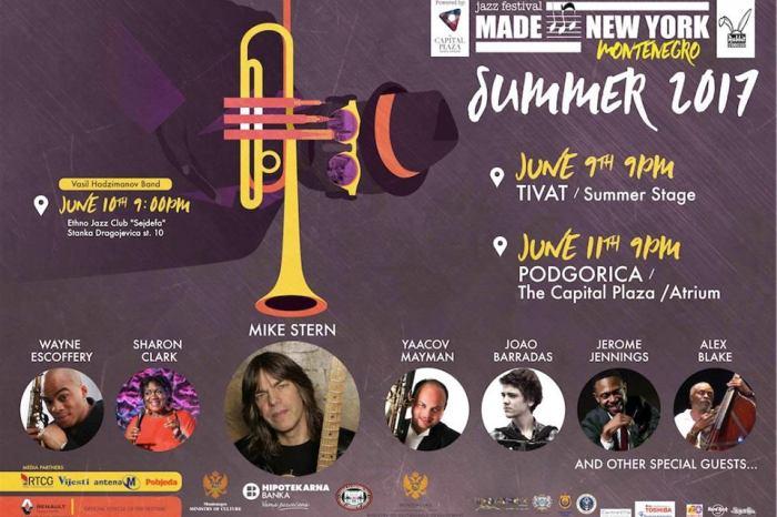 Made in New York Jazz Festival   Montenegro 2017