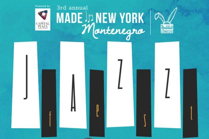 """Jazz festival """"Made in New York Montenegro 2018"""": June 15-17"""
