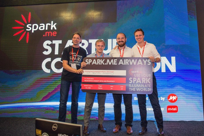 Apply for the Spark.me 2019 startup competition