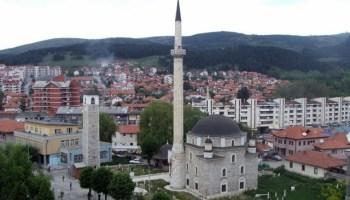 Rezultat slika za Povodom 450 godina Husein-pašine džamije Pošta Crne Gore izradila poštansku markicu