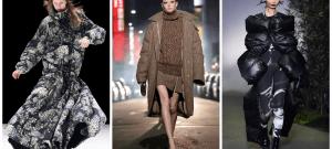 Модные женские пуховики зима 2021-2022