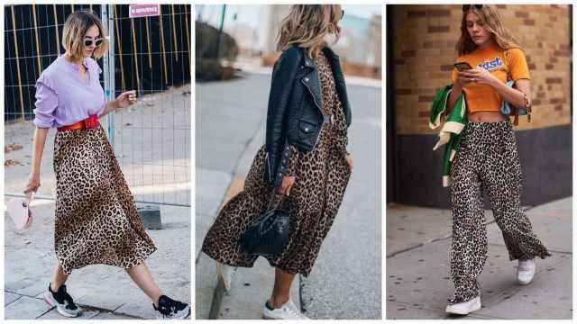 Как носить леопардовый принт в 2021-2022